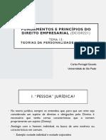 Aula 21 - Teorias da Personalidade Jurídica.pptx