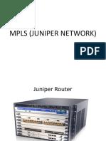 MPLS JUNIPER