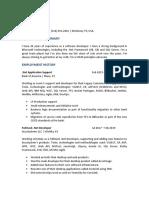 Juan Davila Resume 01-2020