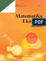 Modul Matematika Ekonomi
