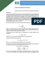 Guía Práctica 6 - Volumen molar parcial
