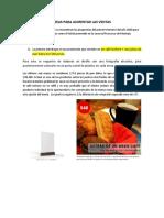 IDEAS PARA AUMENTAR LAS VENTAS.docx