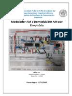 Relatório 2017-2 - Modulador AM e Demodulador por Envoltória - FINAL