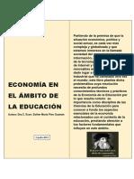 Economía en el ámbito de la educación-material