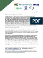 VA Clean Economy Act Letter_1.31.2020
