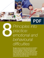 8 Principals Into Practice Emotional Behavioural Difficulties