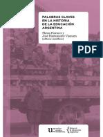 Palabras clave en la Historia de la Educación Argentina.pdf