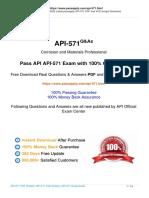 API-571-ecam questions 2020