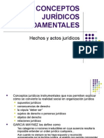 CONCEPTOS JURÍDICOS FUNDAMENTALES