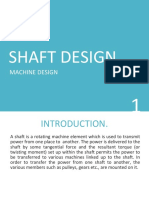 Lecture_3 - SHAFT DESIGN