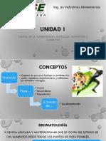 Unidad 1 nutrición