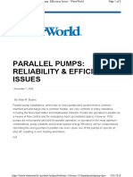 pump in parallel