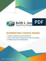 KeithJonesCPA TheCPATaxProblemSolver Guide