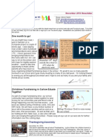 Newsletter Nov 2010