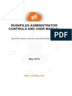 RushFilesFeaturesAndUserManual