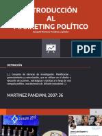 INTRODUCCIÓN AL MARKETING POLÍTICO