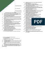 Immunology Exam 01 Subtitle Notes