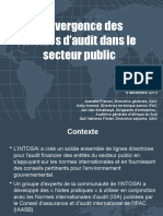 Convergence des normes d'audit dans le secteur public