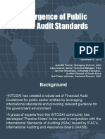 Convergence of Public Sector Audit Standards