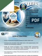 Honduras Implementing Cash IPSAS and Preparing for the Accrual IPSAS
