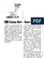 BBB Census Alert - Know the facts