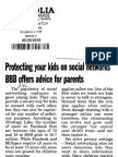 Protecting your kids on social networks