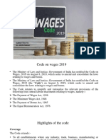Code on wages 2019