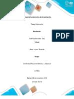 Fundamentos y generalidades de investigacio tarea 3_Gabriela Gonzalez.