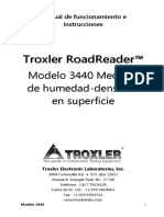3440 Manual of Operation and Instruction 110991 Ed 1.1 Spanish
