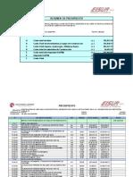 Formato Referencial Presupuesto Cuajone
