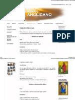 Orações Diversas - anglicano