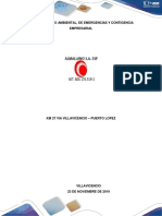 PLAN DE MANEJO AMBIENTAL, EMERGENCIA Y CONTINGENCIA DE ALMALLANO S