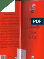 Gilles Deleuze - LA Philosophie Critique De Kant (2004, Imprint unknown).pdf