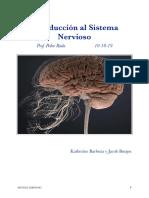 1 Clase. Introducción al Sistema Nervioso 1. Prof Pedro Rada. 10-10-19. Barboza, Katherine y Burgos, Jacob.pdf