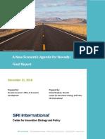A New Economic Agenda for Nevada - Final Report