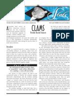 Sea Stats – Clams