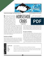 Sea Stats - Horseshoe Crabs