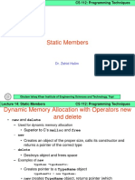 Lecture 14 - Static Members.ppt