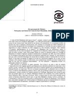 Notes pour une lecture de l'essai de Karl Mannheim - Idéologie et Utopie