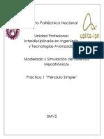 Practica1PenduloSimple