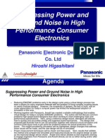 Suppressing Power and Ground Noise