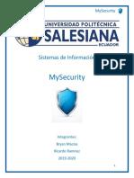 Proyecto Sistemas de Información