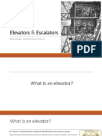 Elevators and escalators-2