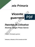 Reportaje de Chihuahua