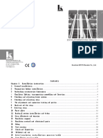 KOYO Escalator installation and Maintenance Manuals