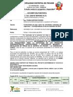 INFORME - Evaluacion de ACTIV. FERIAS 276 N°8