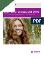 formulators guide