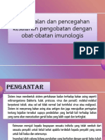 Pengenalan dan pencegahan kesalahan pengobatan dengan obat-obatan imunologis
