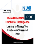 The 4 Dimensions of Emotional Intelligence