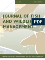 Journal of Fish and Wildife Management Vol 1 #2